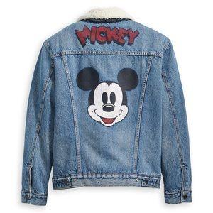 Levi's x Mickey Mouse Sherpa Jean Jacket